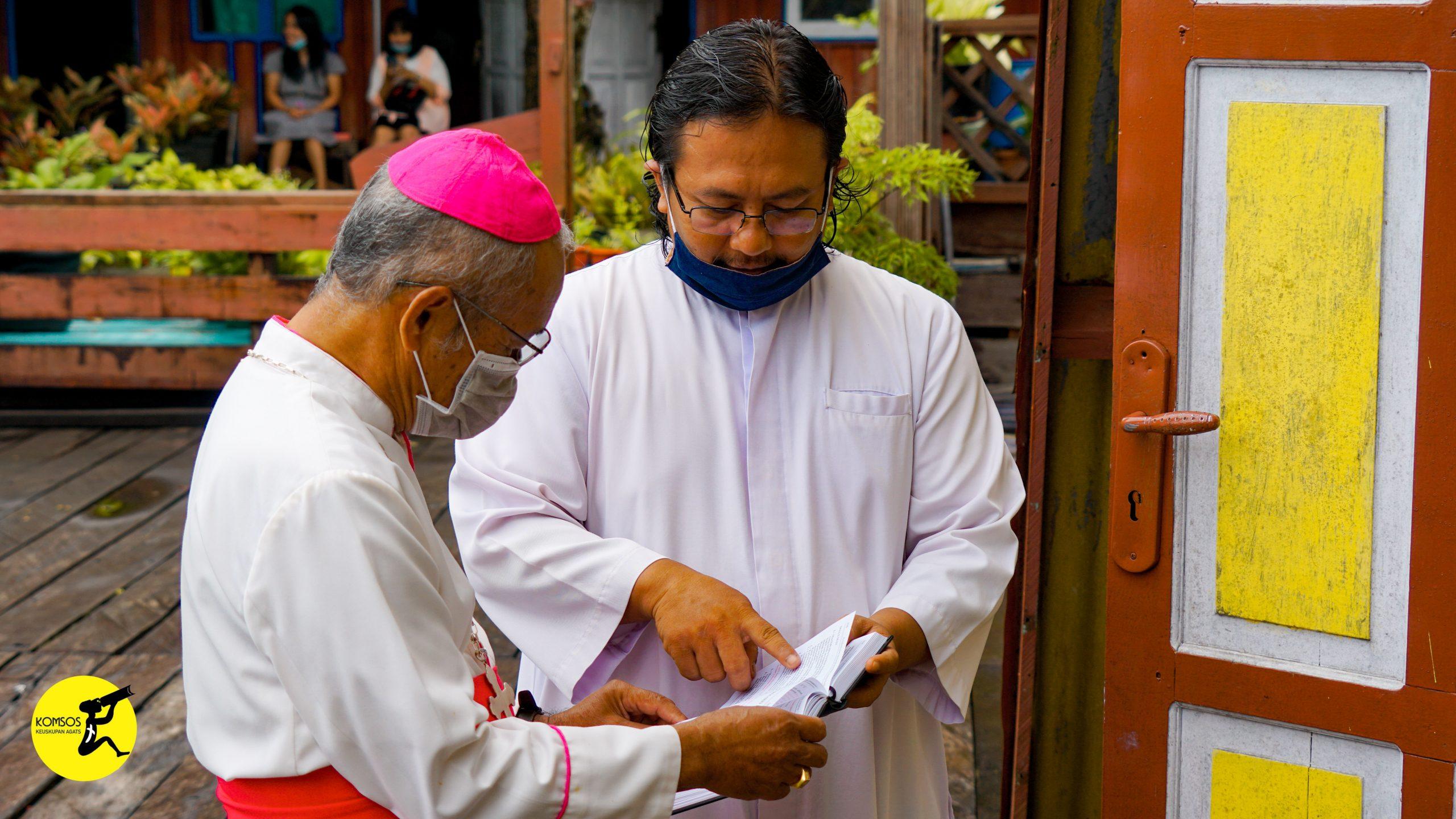 Misa Adven 4 Keuskupan Agats
