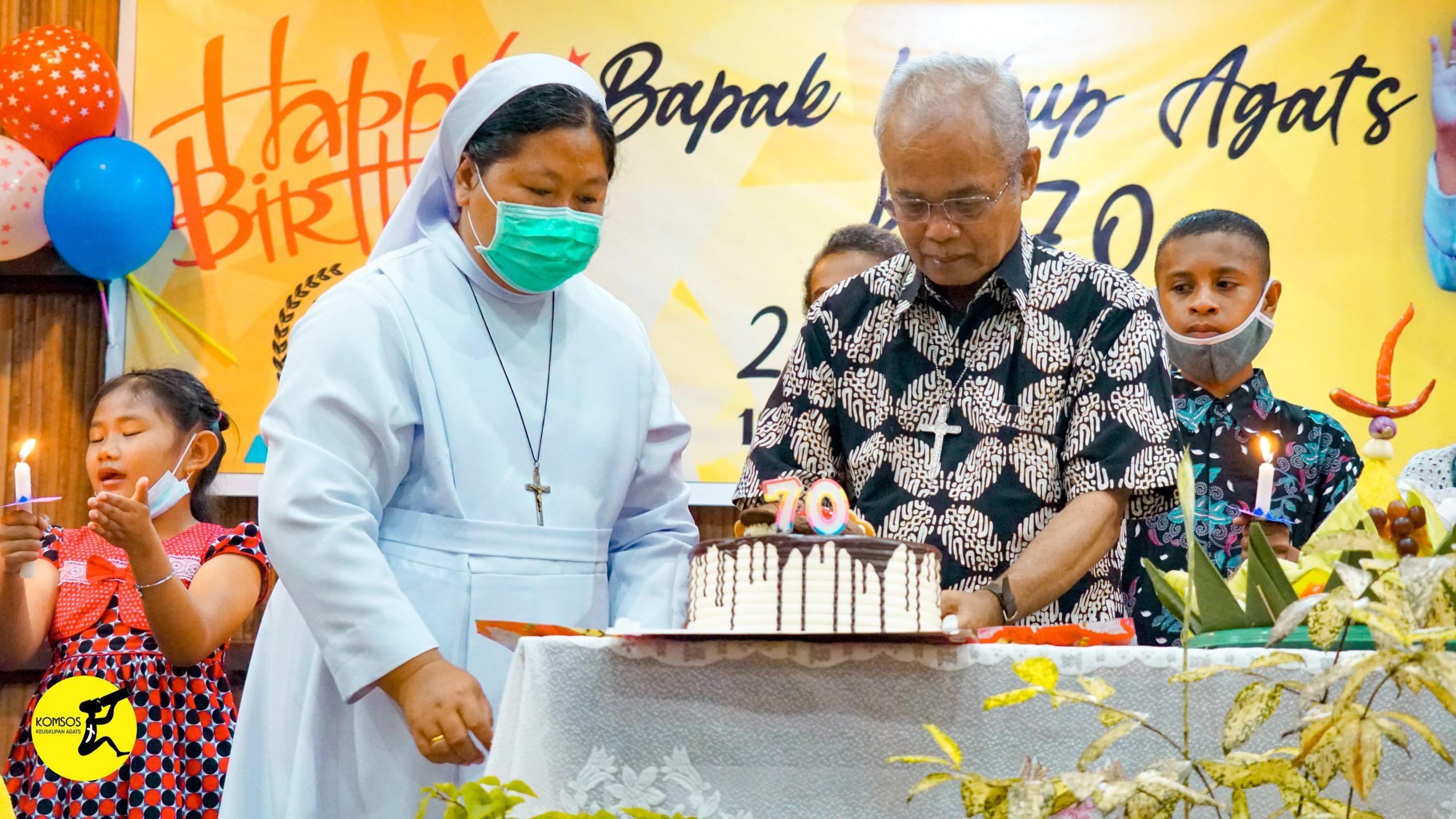 Ramah Tamah Hut ke-70 Mgr. Alo